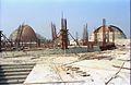 Main Auditorium Dynamotion Hall Space Odyssey Under Construction - Science City - Calcutta 1996-01-03 198.JPG