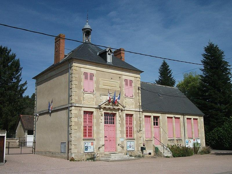 Town hall of Sanssat, Allier, Auvergne-Rhône-Alpes, France [11739]