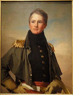 Thomas Biddle - Major Thomas Biddle, by Thomas Wilcocks Sully and Thomas Sully, 1832