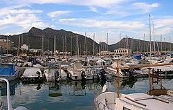 Majorca , Pollenca Harbour , July 2008 - panoramio.jpg