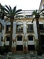 Majorque Carrer Sant Jaume Hotel Born Patio - panoramio (1).jpg