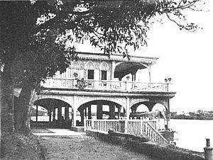 Malacañang Palace and River Pasig, Manila 1898