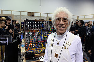 Malcolm Cecil - Malcolm Cecil in 2015 (Moog Music booth, NAMM Show 2015)