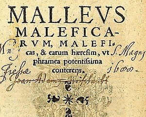 Pope Innocent VIII - Malleus Maleficarum, 1520 edition