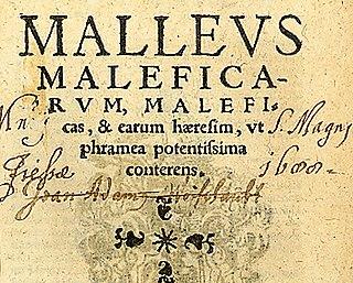 <i>Malleus Maleficarum</i> Treatise on the prosecution of witches