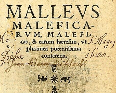 Malleus maleficarum, K%C3%B6ln 1520, Titelseite