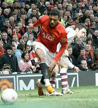 Nani - Nani playing for United in 2008