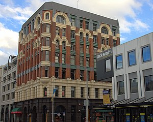 Manchester Courts - Manchester Courts was condemned following the 2010 Canterbury earthquake