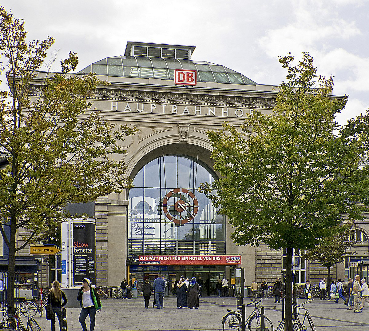 gare centrale de mannheim wikip dia. Black Bedroom Furniture Sets. Home Design Ideas