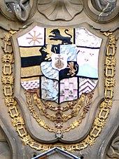 Wappen Karl Theodors am Mannheimer Zeughaus (Quelle: Wikimedia)