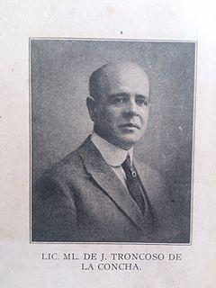 Manuel de Jesús Troncoso de la Concha President of Dominican Republic