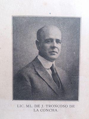 Troncoso de la Concha, M. de J. (1878-1955)