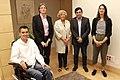 Manuela Carmena, con el alcalde accidental de Barcelona (03).jpg