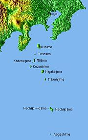 The Izu Islands, to the south, are part of Tokyo.