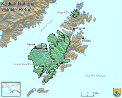 Map Kodiak National Wildlife Refuge.png