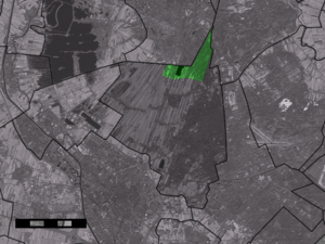 Hollandsche Rading - Image: Map NL De Bilt Hollandsche Rading