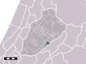Rijsenhout - Image: Map NL Haarlemmermeer Rijsenhout