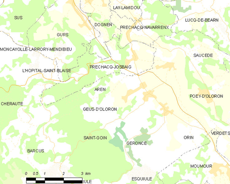 Archivo:Map commune FR insee code 64039.png