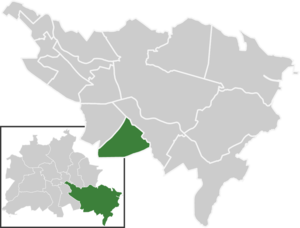 Bohnsdorf - Image: Map de be bohnsdorf