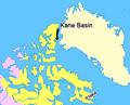 Map indicating Kane Basin, Nunavut, Canada.png