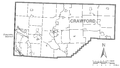 Map of Crawford County, Pennsylvania No Text.png