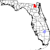 Map of Florida highlighting Baker County.svg