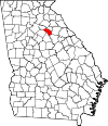 Map of Georgia highlighting Oconee County.svg