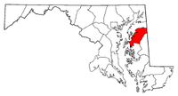 Map of Maryland highlighting Queen Anne's County.png