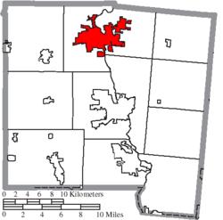 location of piqua in miami county