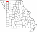 Map of Missouri highlighting Worth County.png