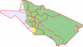 Map of Oulu highlighting Kiviniemi.png