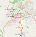 Map of the tramway system in Constantine, Algeria.png