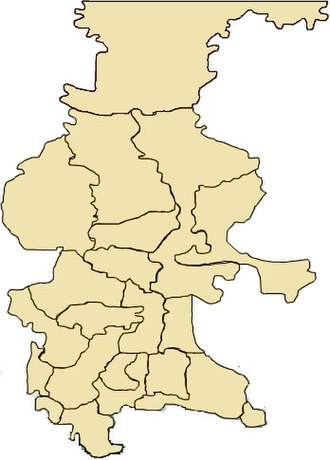Municipalities of Guatemala - Image: Mapaquiche 2015