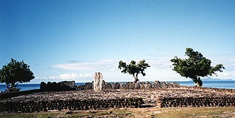 Marae - Image: Marae, Raiatea 2