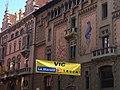 Marató Tv3. Vic. Osona. Catalonian Flags - panoramio.jpg