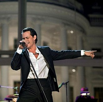 Premio Lo Nuestro 2014 - American singer Marc Anthony (pictured in 2009), received the Excellence Award and performed at the show.