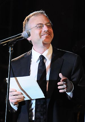 Marc Shaiman - Shaiman at the Drama League All Star Benefit Gala, February 7, 2010