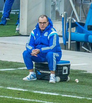 Marcelo Bielsa - Bielsa as a coach of Marseille in 2015.