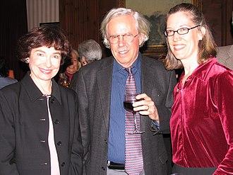 Dan W. Brock - Marcia Angell, Dan W. Brock, and Rebecca Grow at Harvard Medical School reception