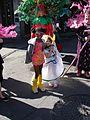 Mardi Gras Girls Jackson Square 2009.jpg