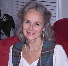 colour portrait photograph of Margaret Bennett in 2006