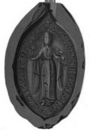 Marie of France, Countess of Champagne - Seal of Marie of France