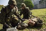 Marines, Japanese soldiers bridge gaps while training 151022-M-OH021-347.jpg