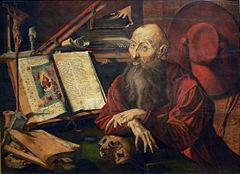 Kunsthistorisches Museum: Hl. Hieronymus in der Zelle