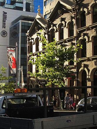 Market Street, Sydney - Market Street building