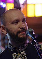 Marko Halanevych (DakhaBrakha) (Haldern Pop 2013) IMGP6632 smial wp.jpg