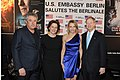 Markus Imboden, Martina Gedeck, Kimberly Emerson, and John B Emerson at the Berlinale party, 2016.jpg