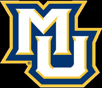 2017–18 Marquette Golden Eagles men's basketball team - Image: Marquette mu small