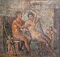 Mars and Aphrodite (Venus) fresco from the Casa di Meleagro, Pompeii 9256 MH.jpg