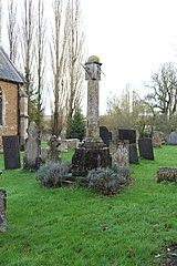 Churchyard cross, St Mary's churchyard